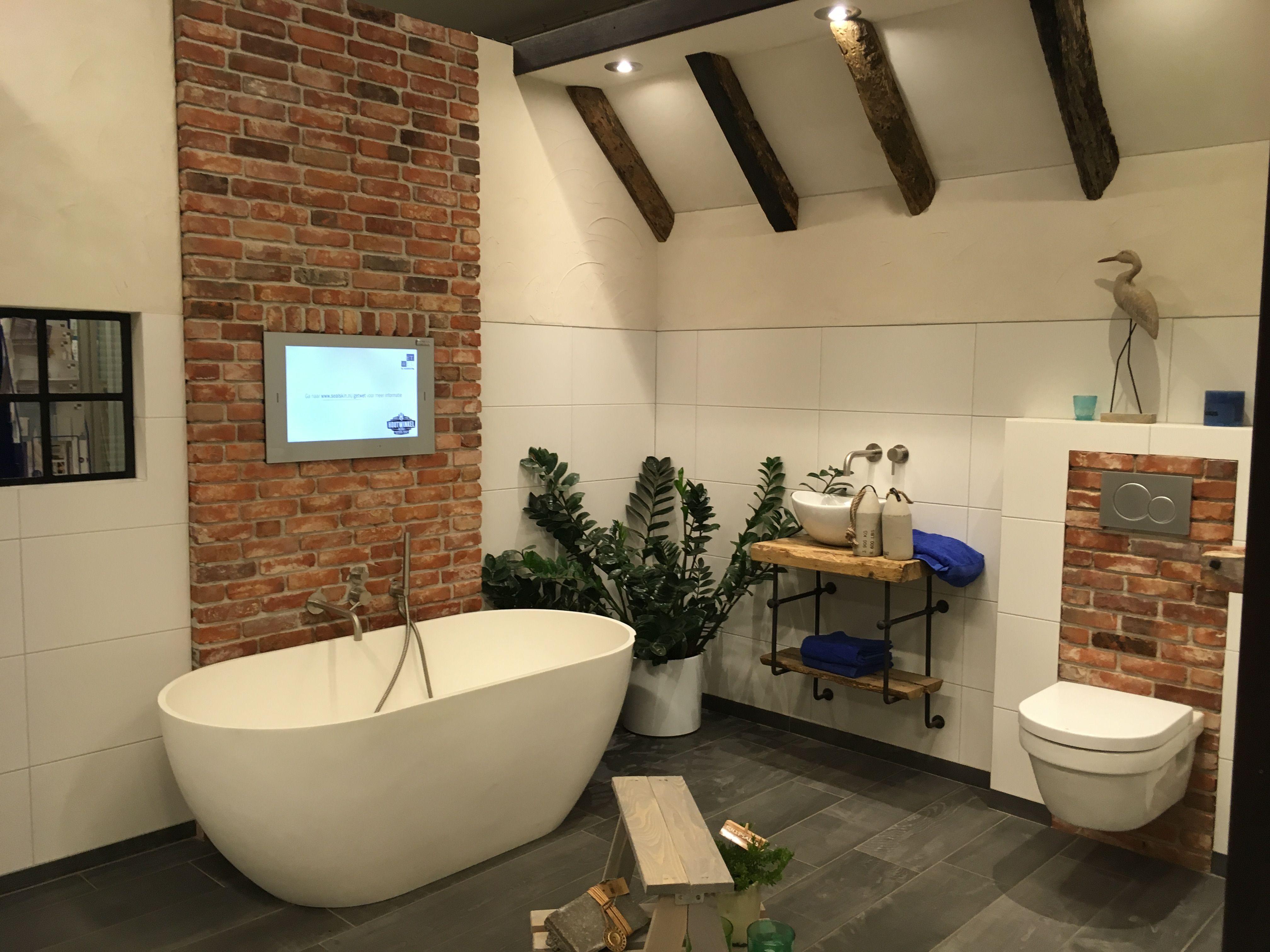 Wandtegels Badkamer Hubo : Badkamer showroom hubo houtwinkel bladel badkamer toilet