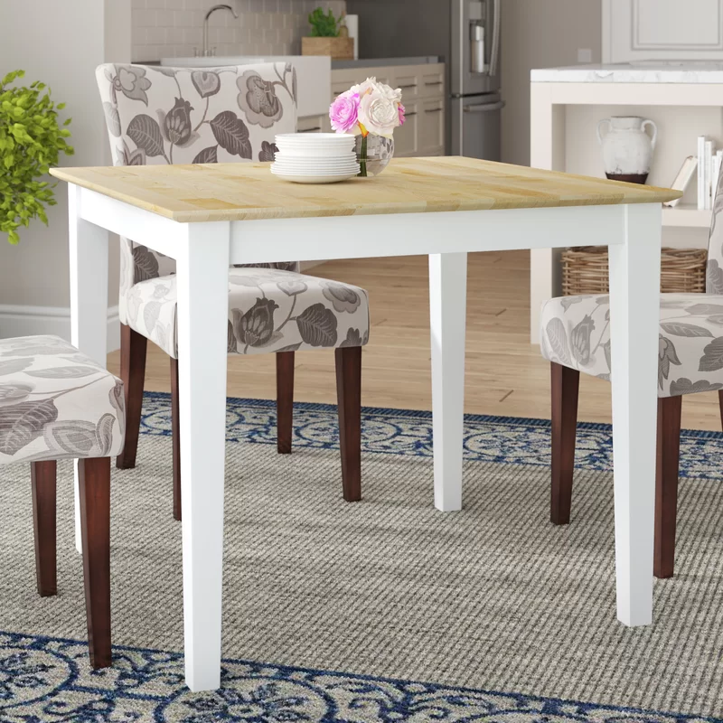Frost Solid Wood Dining Table In 2021 Solid Wood Dining Table Dining Table Dining Table Sizes