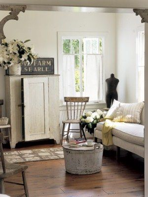 These White Living Room Ideas Will Inspire Your Next Home Makeover Vintage Living Room Farm House Living Room Country Decor