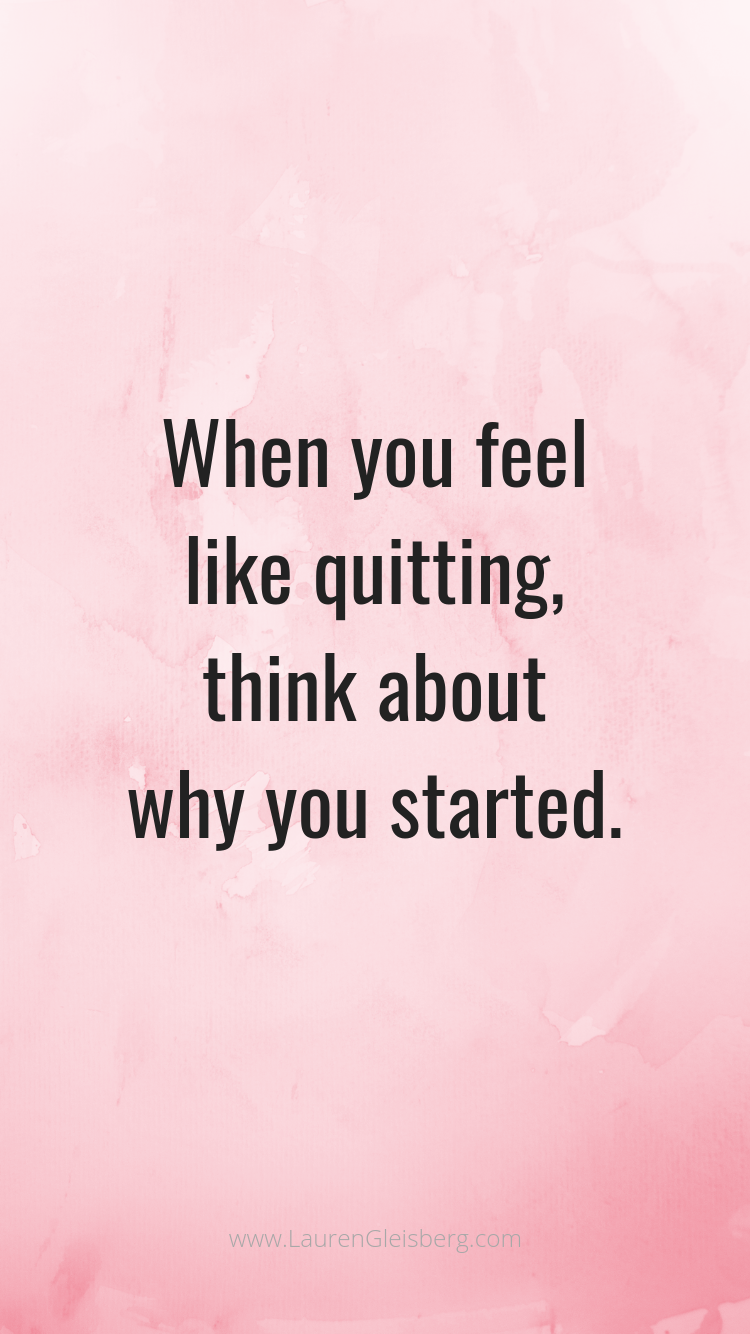BEST MOTIVATIONAL & INSPIRATIONAL GYM / FITNESS QUOTES - when you feel like quitting think about why...
