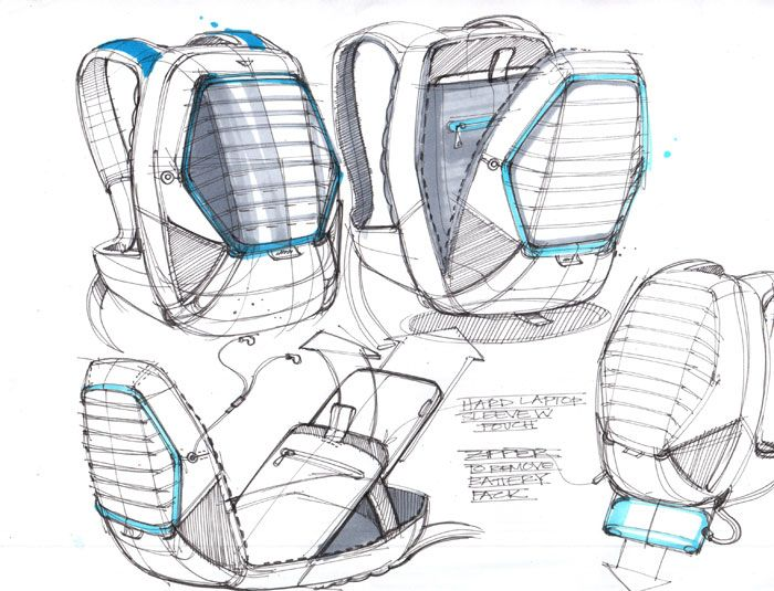 Sketch A Day 408 Sketch A Day Sketches By Spencer Nugent Strichfuhrung Produktdesign Skizzen