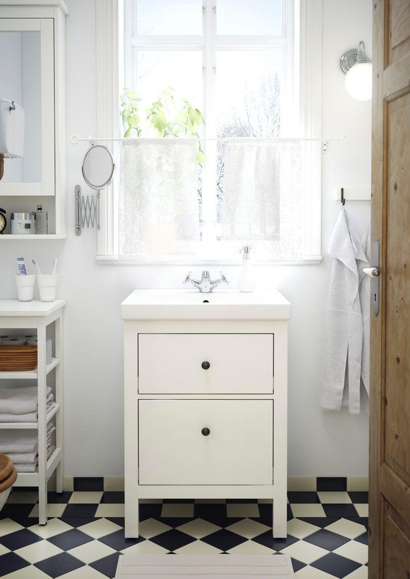 Ikea Deutschland Leicht Laufende Sanft Schliessende Schubladen Mit Ausziehsperre Vo Waschbeckenschrank Kleine Badezimmerschranke Kleine Badezimmer
