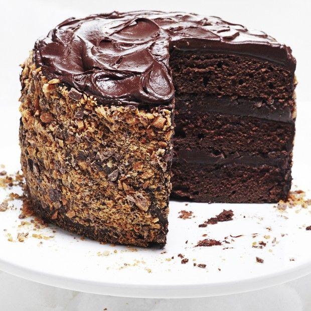 Crunchie chocolate bar cake recipe