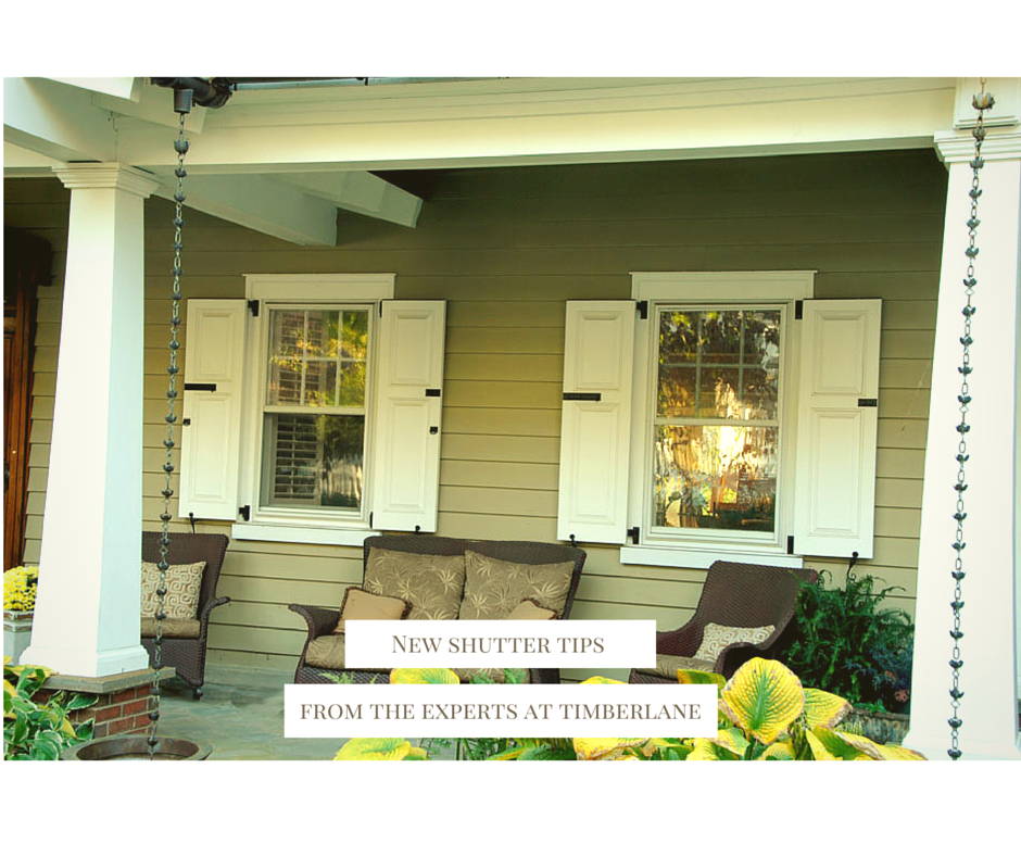 Need To Know What Shutter Style Matches Your House Style? Start Your  Exterior Design Journey