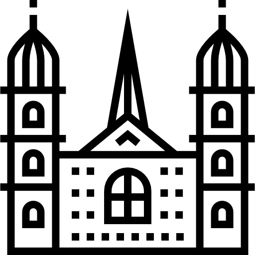 Grossmunster Church Free Vector Icons Designed By Freepik In 2020 Free Icons Vector Free Vector Icon Design
