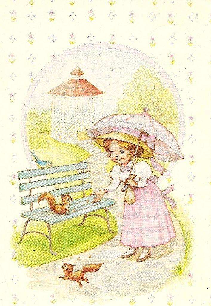 a postcard, illustrator: no signature. Printed in Finland by Karto 29-395