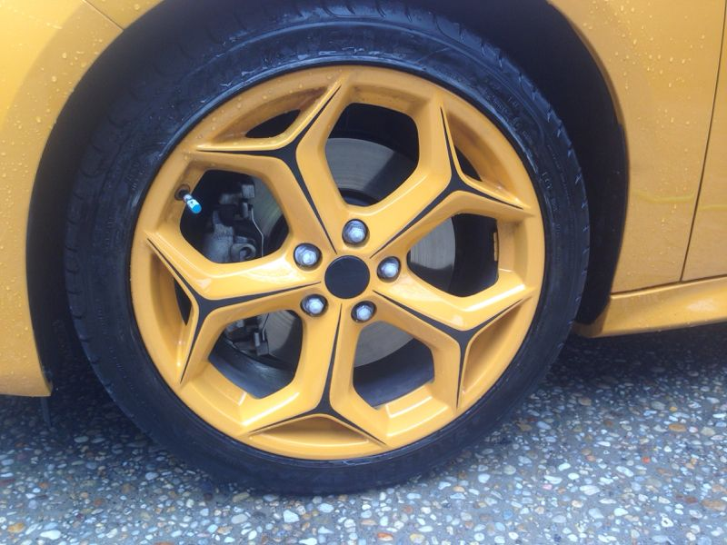 Yellow rims in Ford Focus ST good or bad? & Yellow rims in Ford Focus ST good or bad? | Ford-Focus.ST Tuning ... markmcfarlin.com