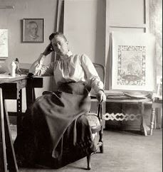 Hilma Af Klint, the pioneer in abstract and geometric art ( 1862-1944 )