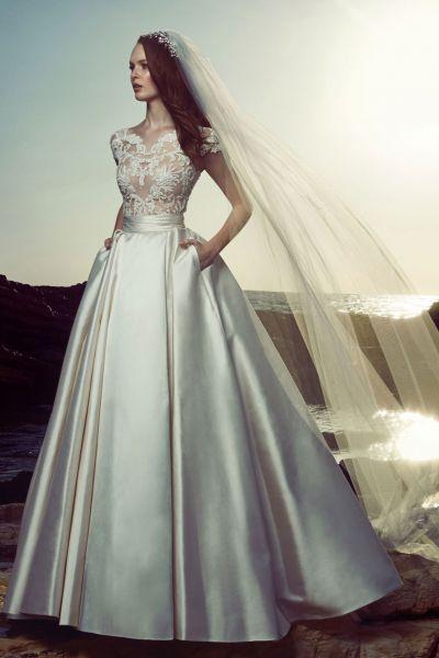 821d6a4d6 Vestidos de novia con bolsillos 2017  Los pequeños detalles marcan la  diferencia Image  26