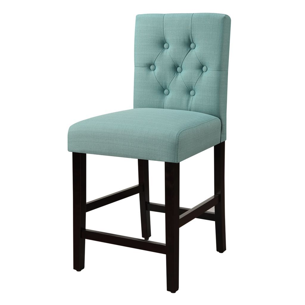 Bella Tufted Counter Stool Bar Stools Counter Stools Counter Height Chairs