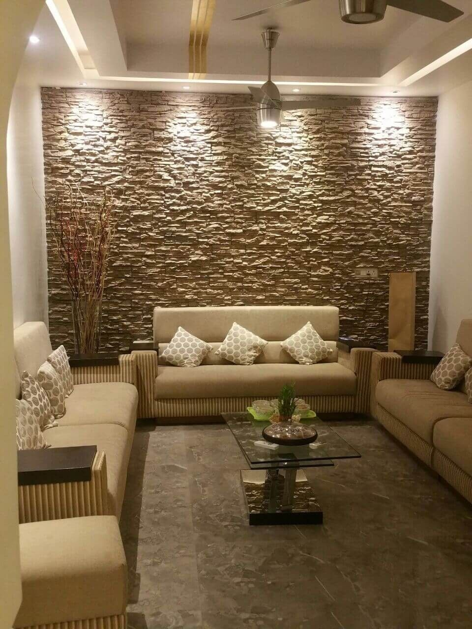 Amazing Wall Decorating Ideas With Stones Living Room Design Modern Stone Wall Interior Design Interior Wall Design