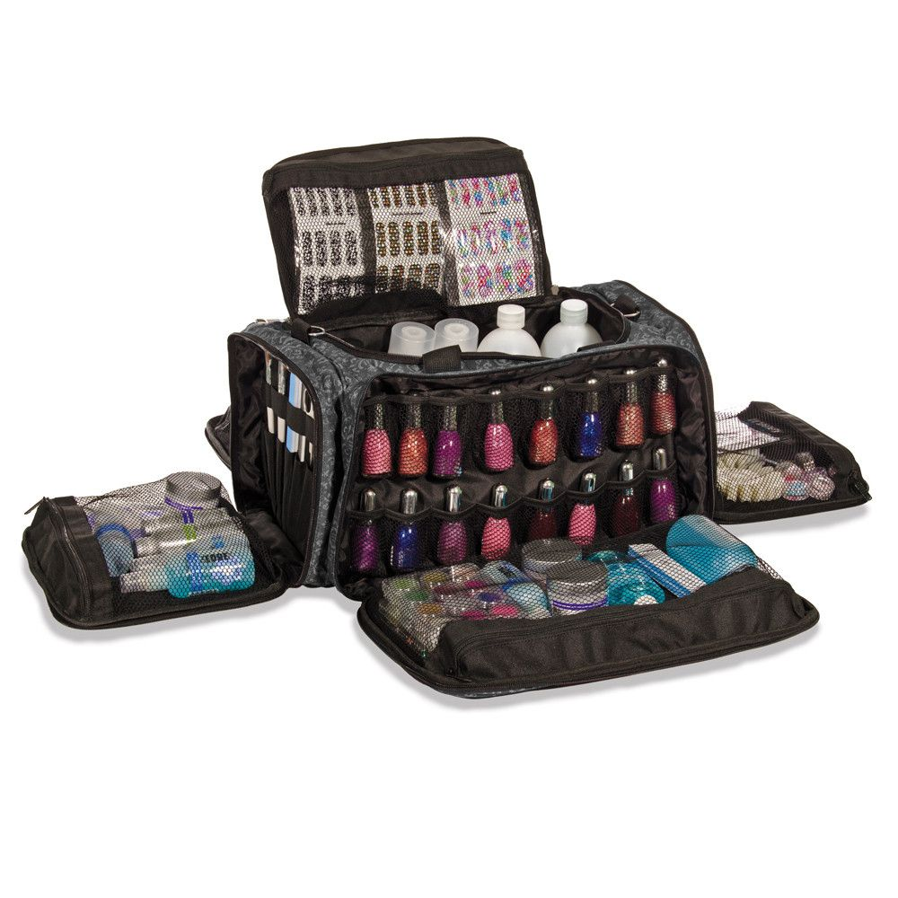 Glamour Nail Technicians Session Bag Imperial Black