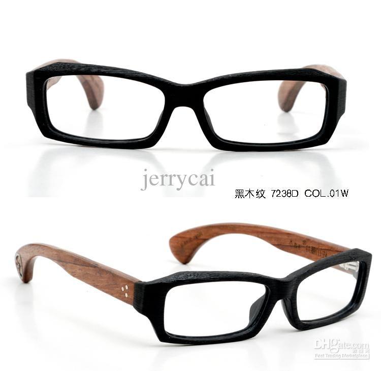 Hot selling vintage designer Optical handmade wooden glasses men\'s ...