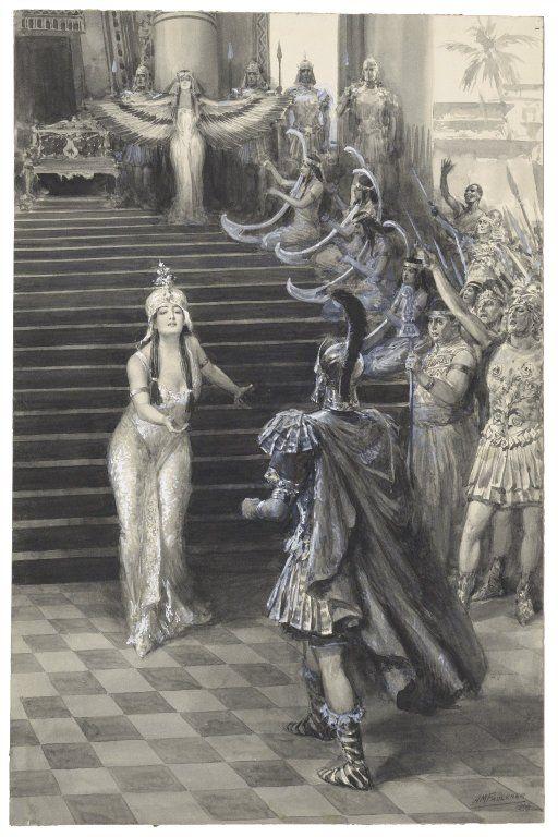 Antony and cleopatra sex rome