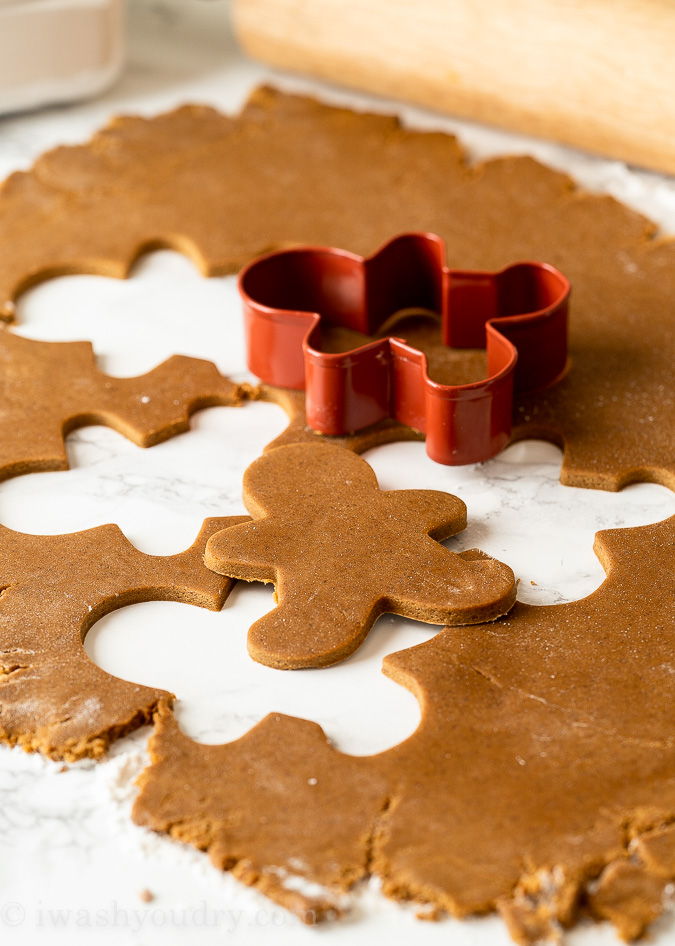 Perfect Gingerbread Cookies Recipe! #gingerbreadcookies