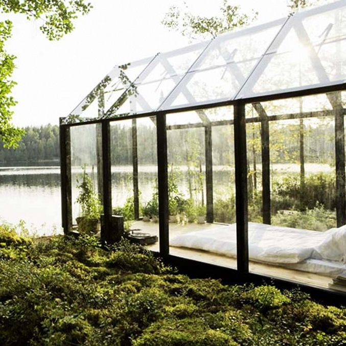 garden sheds with greenhouses