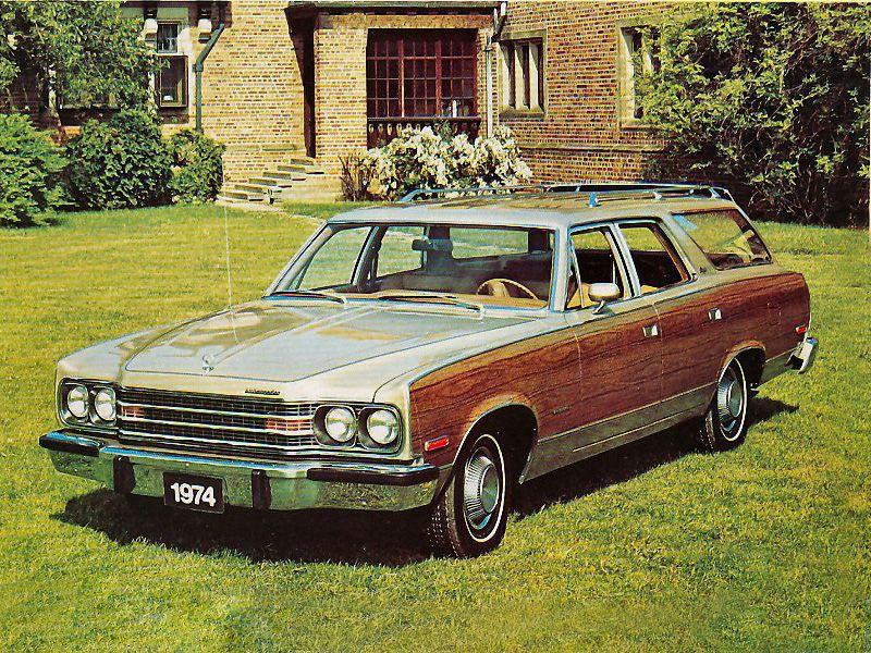 Amc Ambassador 1974 Station Wagon Amc American Classic Cars