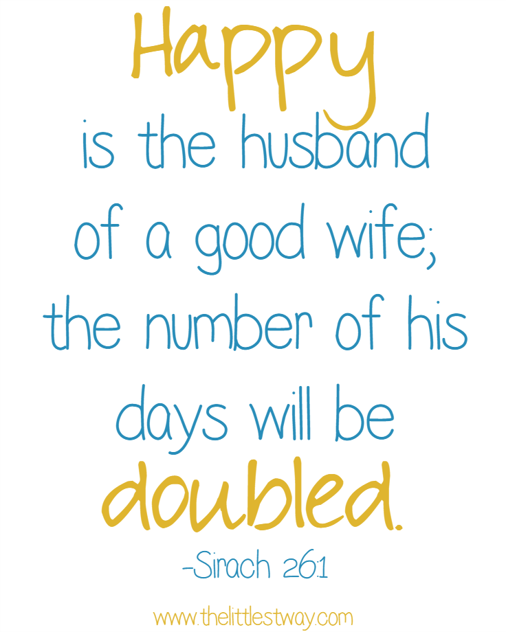 A Good Wife Makes Her Husband Happy Best Of The Littlest Way