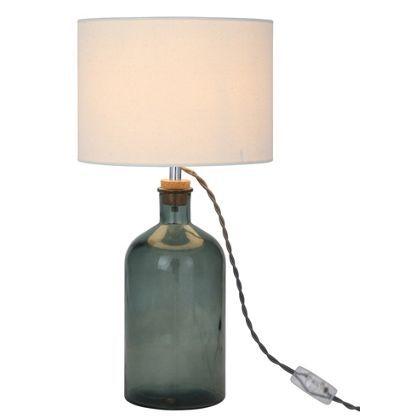 recycled glass lighting. Recycled Glass Bottle Lamp At Homebase -- Be Inspired And Make Your House A Home Lighting C