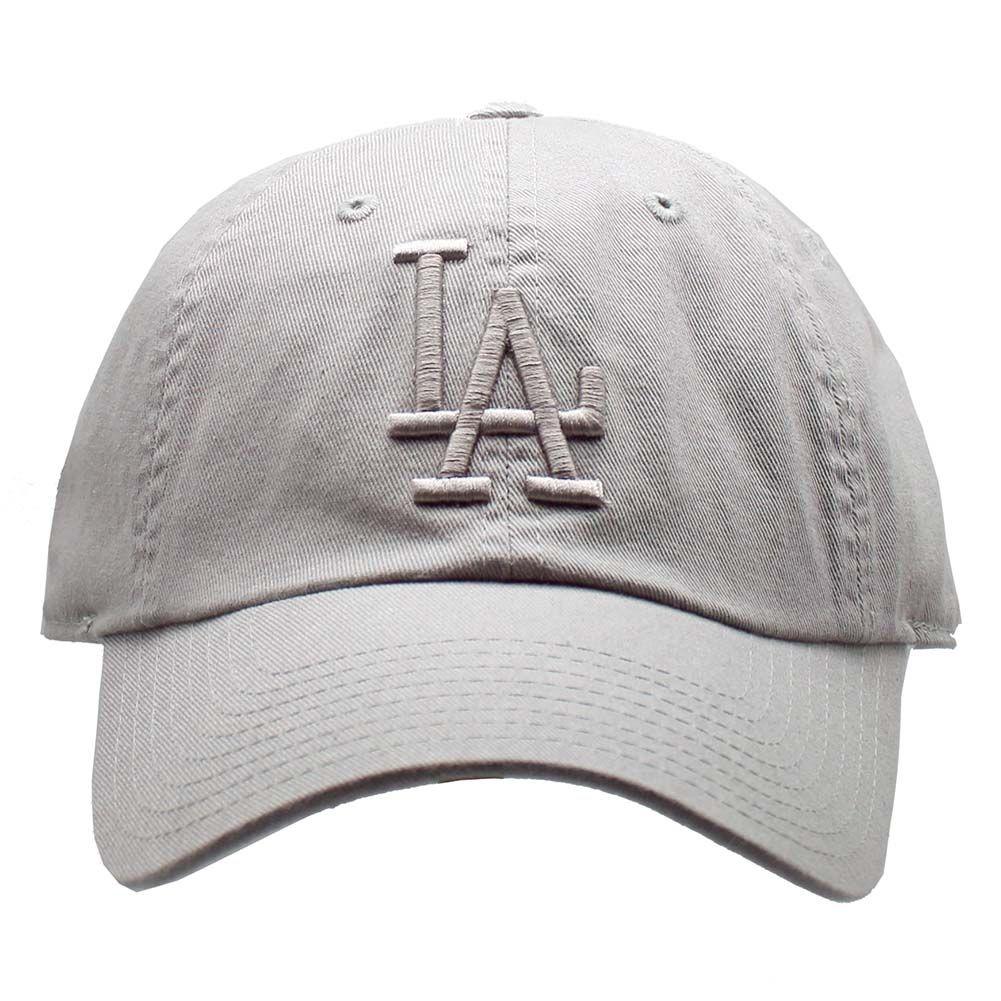 233ead4baf1 American Needle Los Angeles Dodgers Tonal Ballpark Raglan Baseball Hat in  Grey