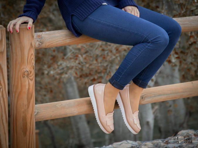 Zapatos Rosados rosa Mocasines de Mocasines Zapatos palo Rosa charol Zapatos Palo qx0P6