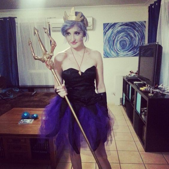 Diy ursula costume ursula halloween costumes and costumes ideas accessories for your diy ursula halloween costume idea solutioingenieria Image collections