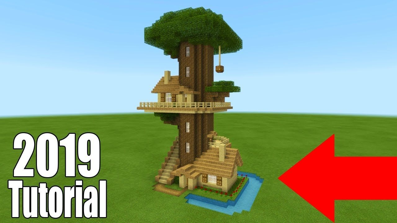Minecraft Tutorial How To Make A Ultimate Survival Tree House