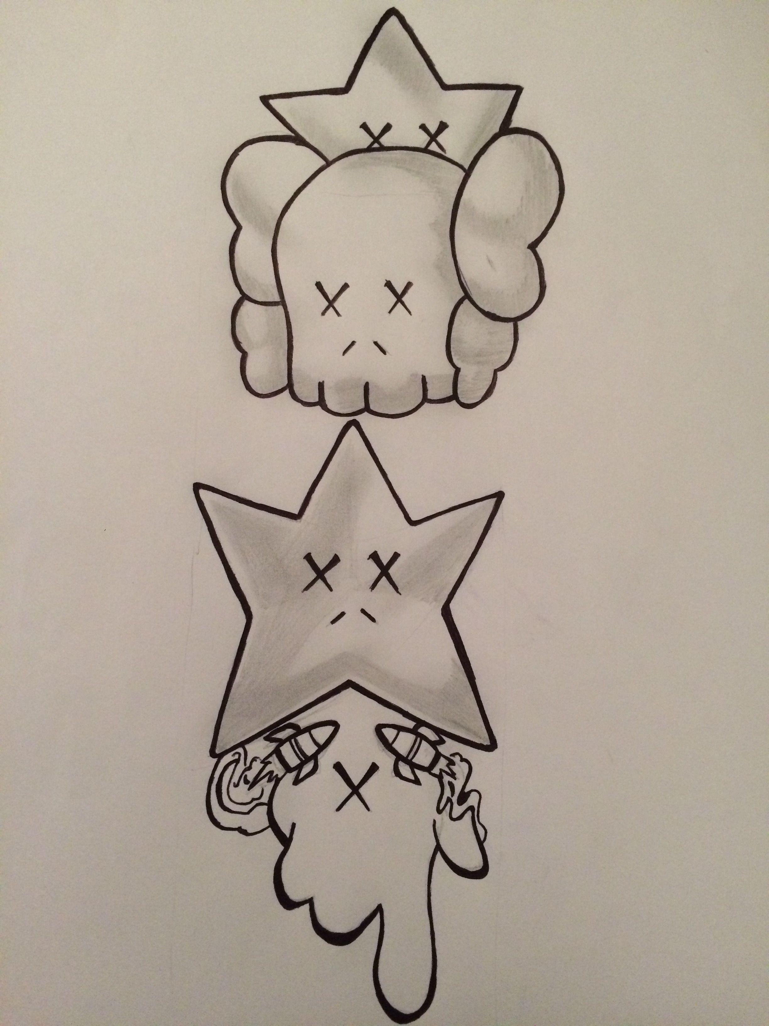 Kaws tattoo by Chris Brown | Graphics | Pinterest | Ideas de ...