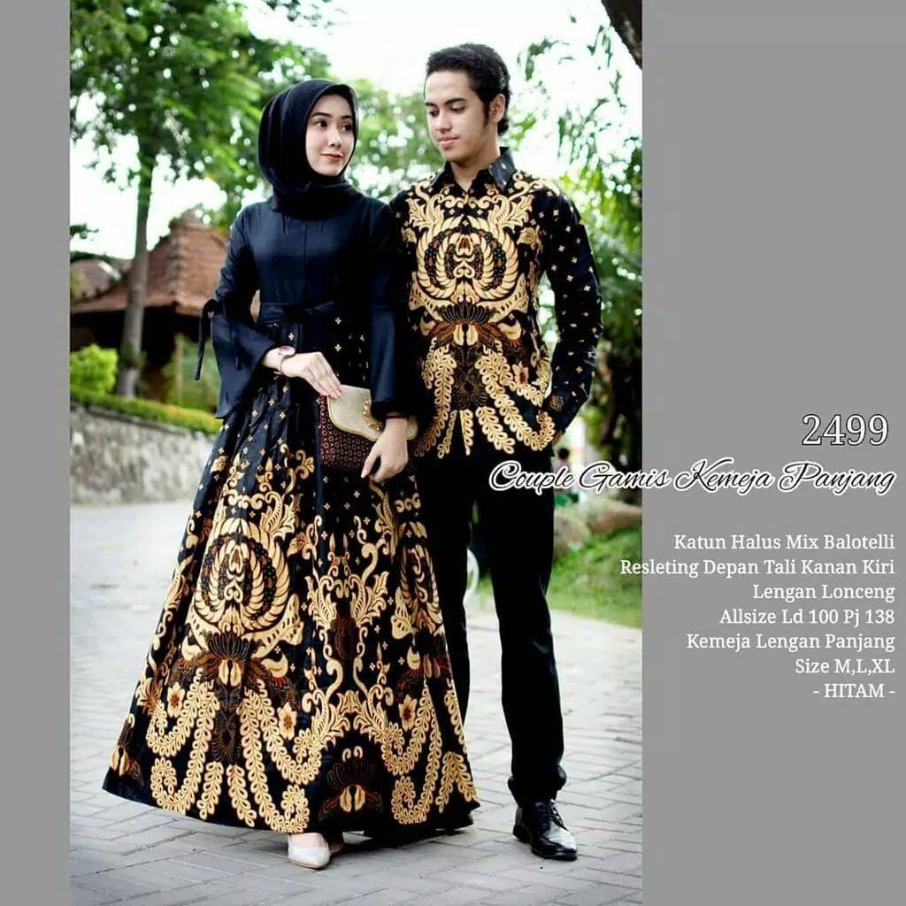 Model Batik Wanita Hitam Di 2020