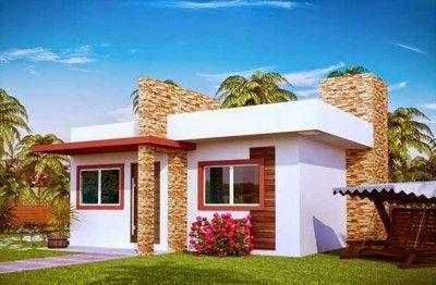Conoce Modelos De Casas Con Fachadas Bonitas Y Pequenas Modern House Facades Home Architecture Styles Facade House