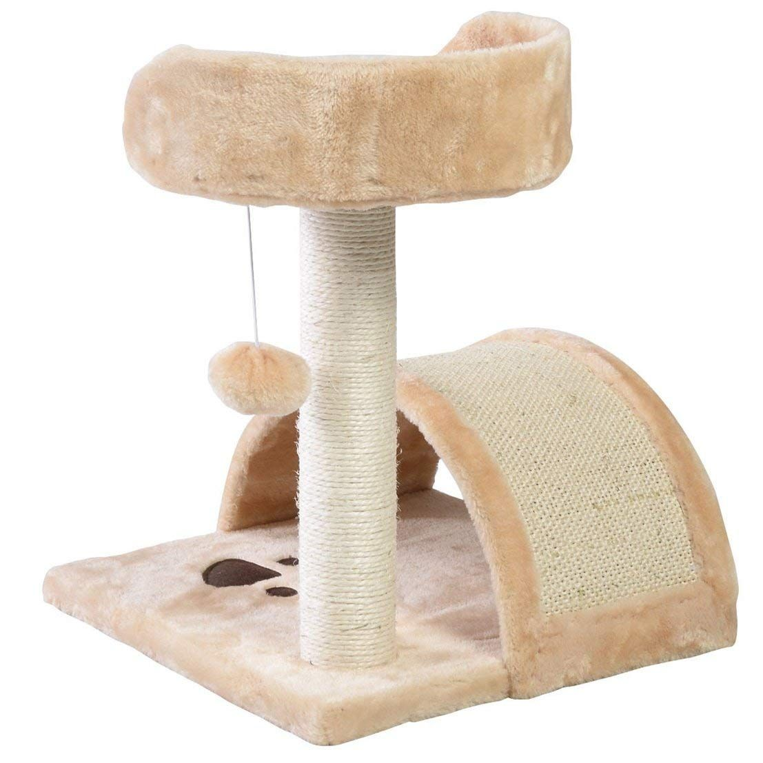 Important Por 18 Cat Tree Furniture Kittens Pet Play Climb And Jump Color Beige Click Image For More Details This Is An Affiliate Link Catcare