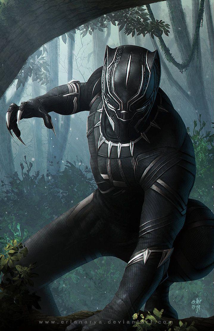 Black Panther by erlanarya on DeviantArt