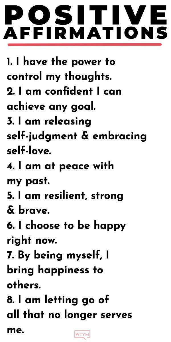20 Positive Affirmations For Women That Will Make You Unstoppable