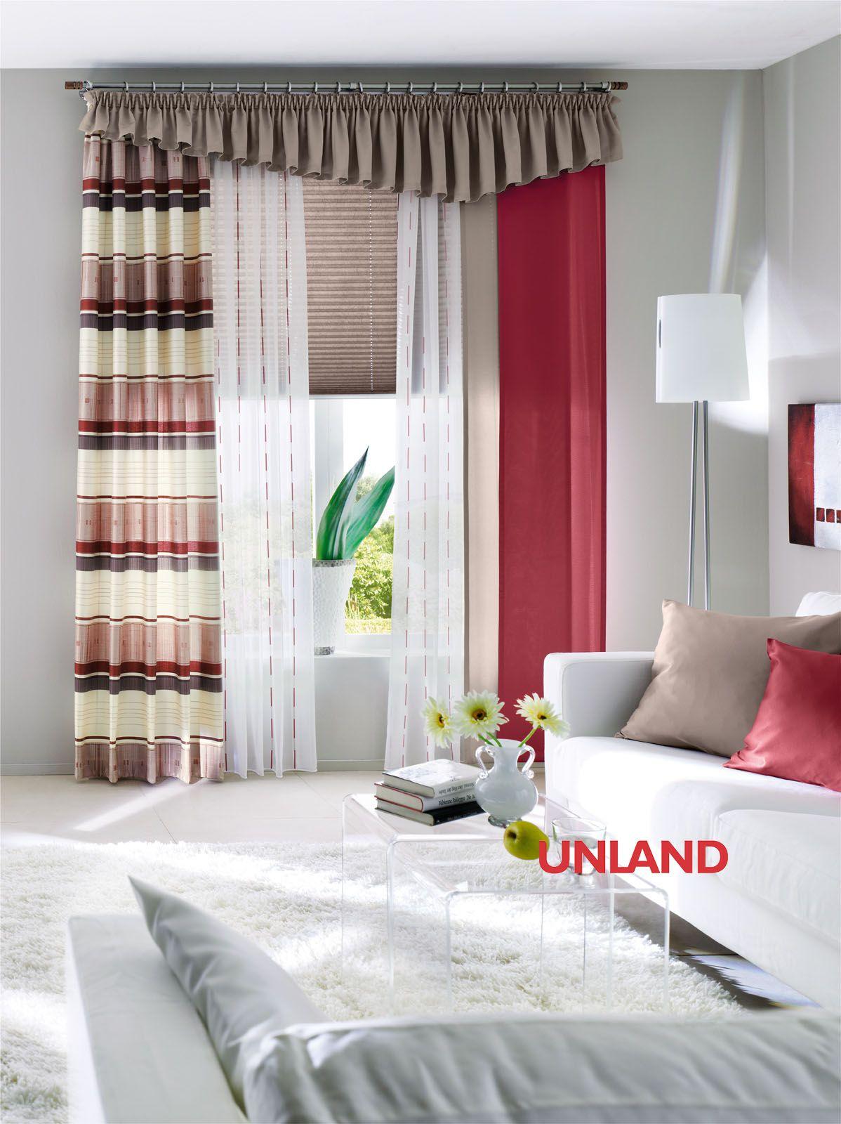 Unland Linea, Fensterideen, Vorhang, Gardinen und Sonnenschutz