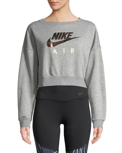 efb227d6 Nike Cropped Athletic Sweatshirt in 2019 | Products | Nike outfits ...
