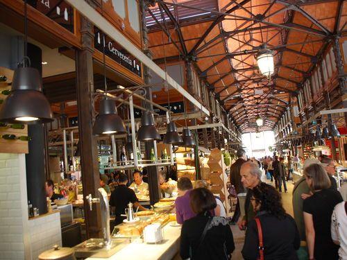 Madrid,Mercado de San Miguel