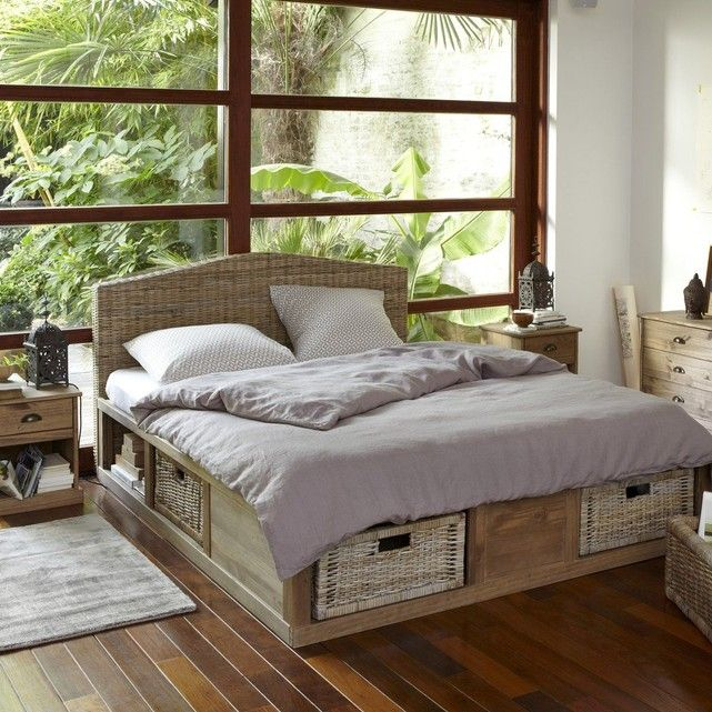 t te de lit 2 personnes kubu tress malu deco chambre. Black Bedroom Furniture Sets. Home Design Ideas