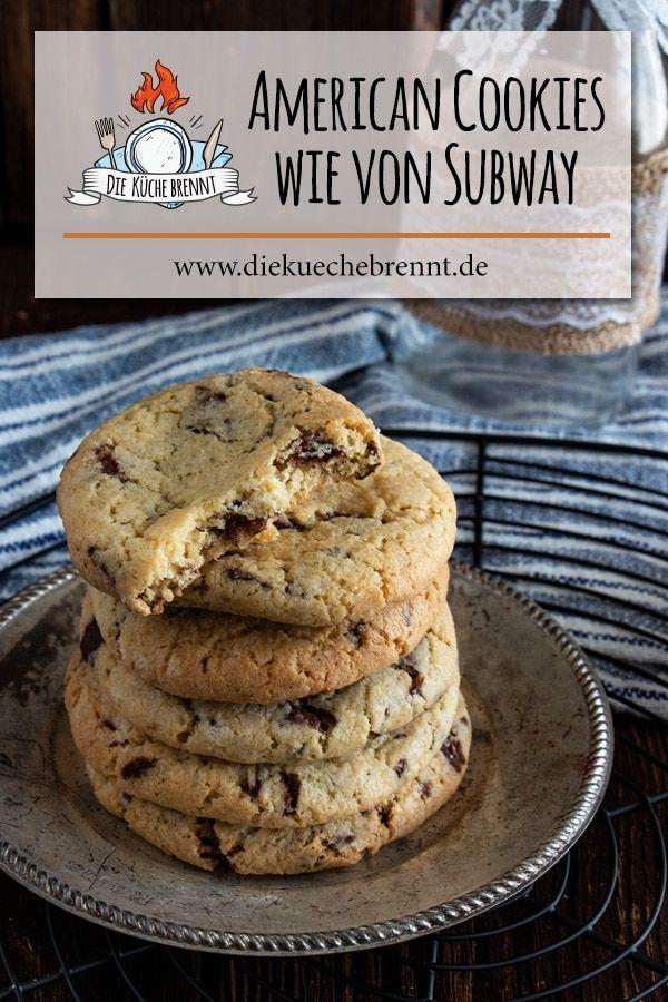 Weltbeste Lieblingscookies American Cookies Rezept Mit Schokolade Rezept Rezept Kekse Cookies Rezept Schoko Cookies Rezept