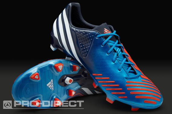 quality design c04fc 57fe3 adidas Football Boots - adidas Predator LZ TRX FG - Firm Ground - Soccer  Cleats - Blue-White-Infrared