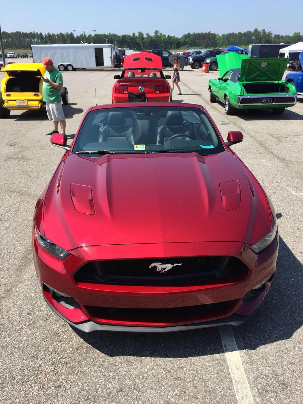 2015 ruby red mustang gt convertible