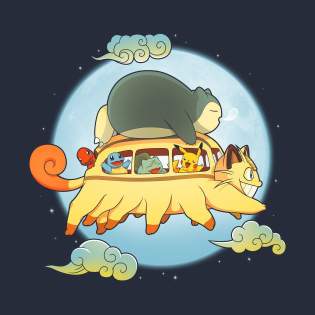 Check out this awesome 'Poke+Bus' design on @TeePublic!