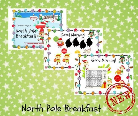 North Pole Breakfast Printables | NPB | Elf Printables | Elf Download | Elf Accessories | Elf Props #northpolebreakfast North Pole Breakfast Printables | NPB | Elf Printables | Elf Download | Elf Accessories | Elf Props #northpolebreakfast