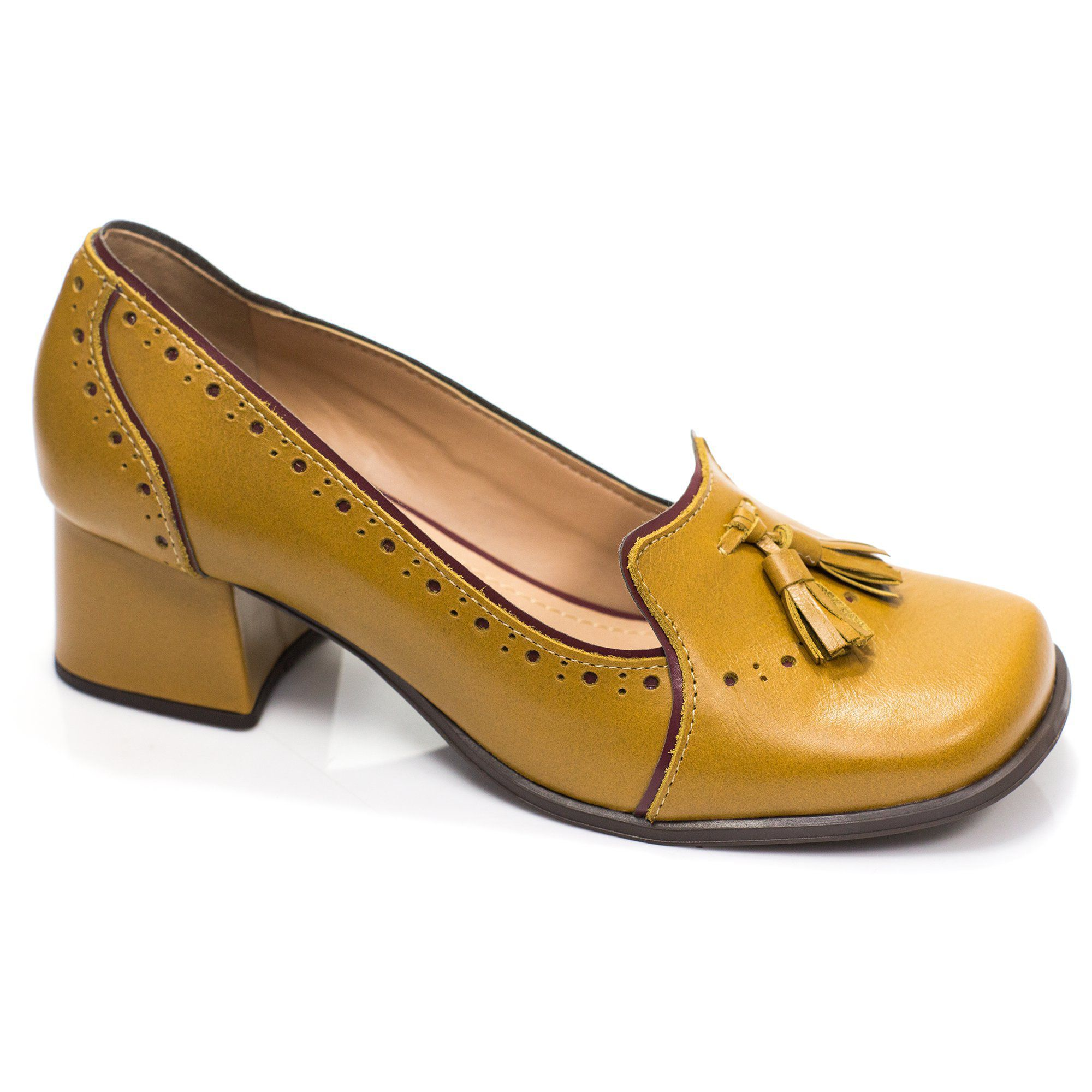 De de das sapato mulheres couro palmilhas