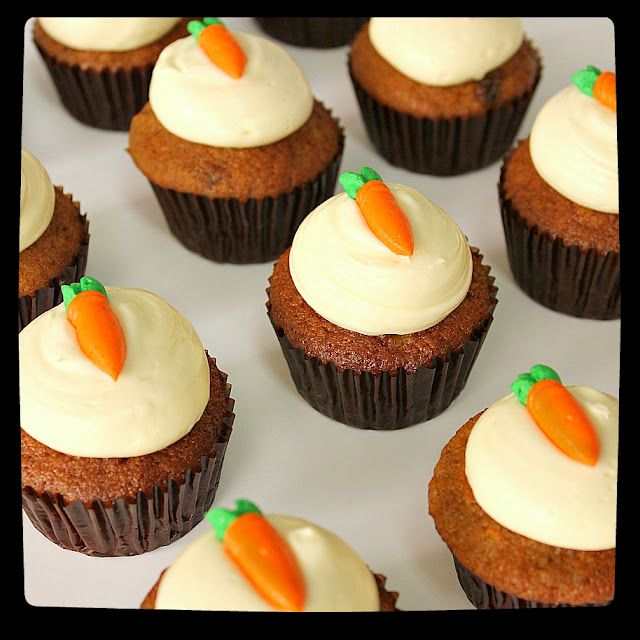 Better than Crack Carrot Cupcakes