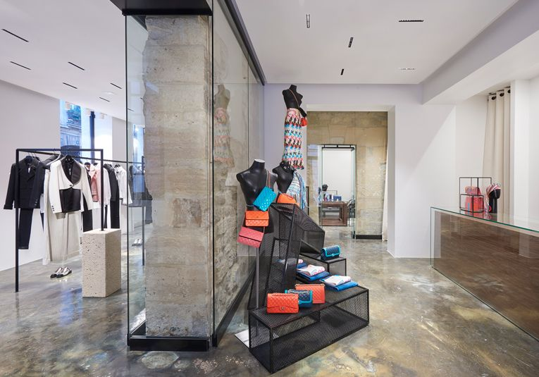 chanel makes a grand entrance in the marais district with two pop-up stores  at befd1a0a60f
