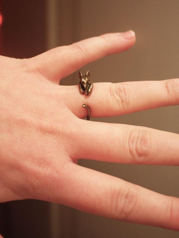 Retro Cute Mouselet Ring