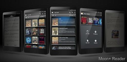 Moon+ Reader Android aplikacija za čitanje knjiga - Kompjuter biblioteka