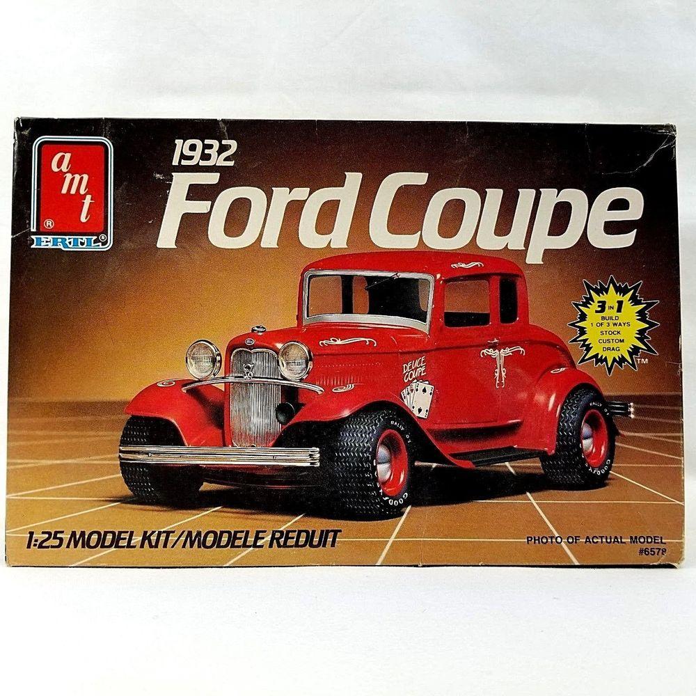 Sealed Parts AMT Ertl 1985 Vintage Model Car Building Kit