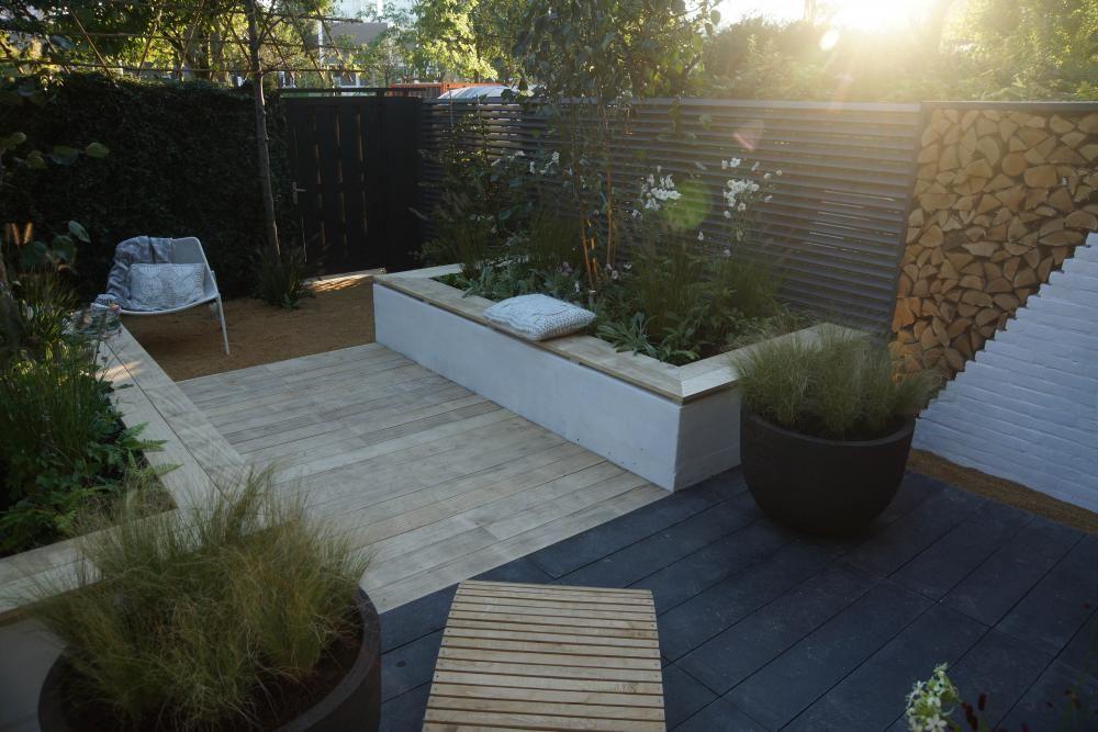 Rust in de stadstuin eigen huis en tuin tuin pinterest huis en tuin tuin en tuin steen - Deco en de tuin ...