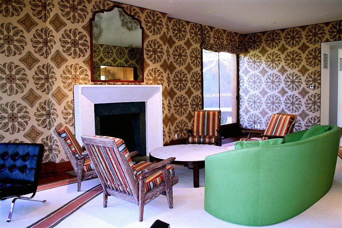 York Wallcoverings Fn Green Book Grasscloth Wallpaper Multi 600 Entrancing Best Living Room Wallpaper Designs 2018